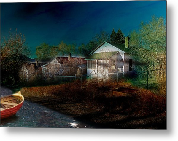 My Dream House Metal Print