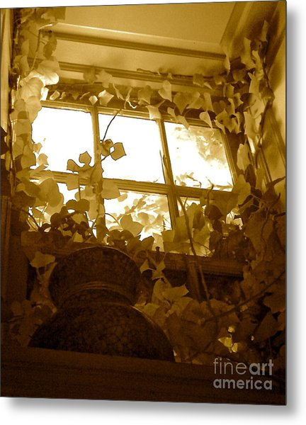 My Favorite Window At The Mill Metal Print
