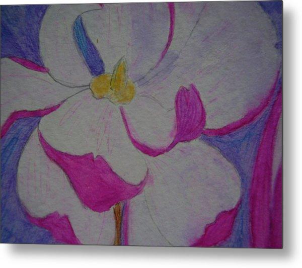 My Flower Metal Print by Yvette Pichette