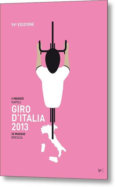 My Giro D'italia Minimal Poster Metal Print