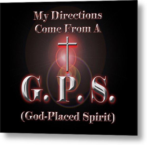 My Gps Metal Print
