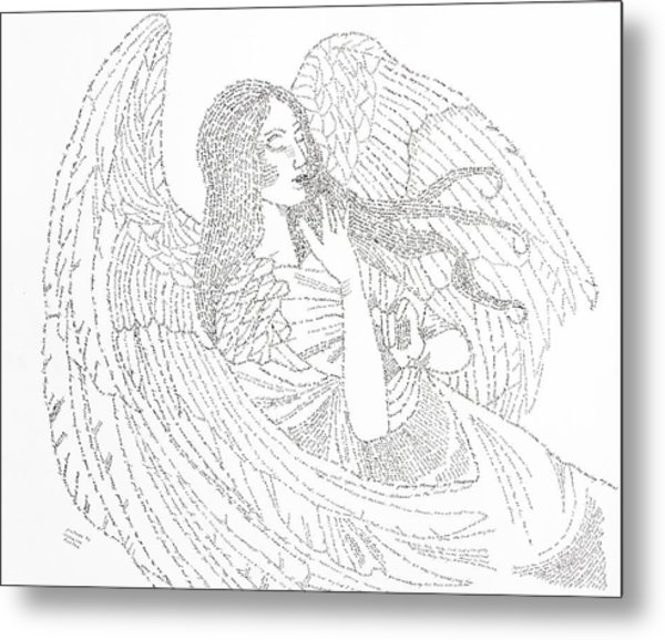 a9038146b My Guardian Angel Metal Print by Lorraine Foster