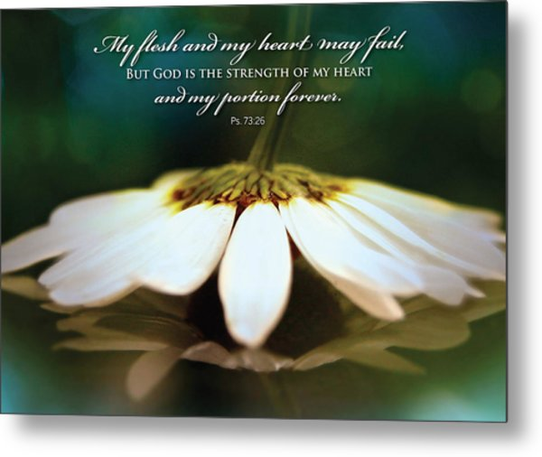 My Heart May Fail Metal Print