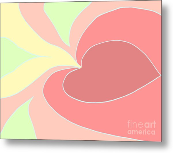My Heart To You Metal Print