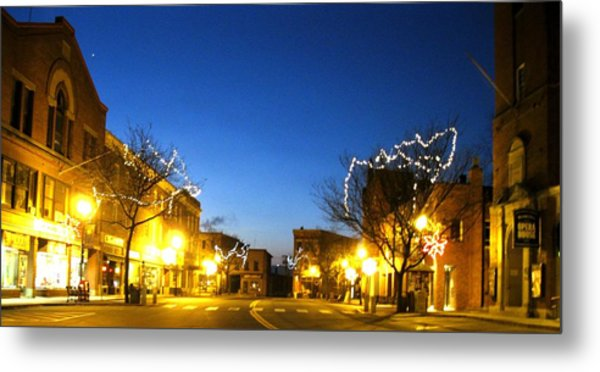 My Home Town 2 Metal Print by Will Boutin Photos
