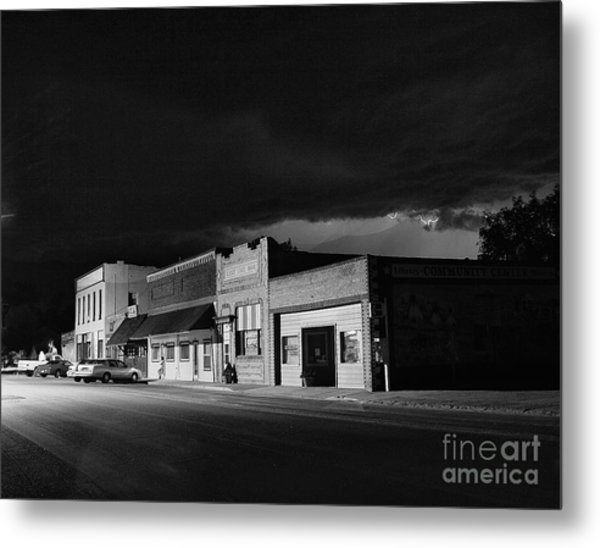 My Home Town II Metal Print