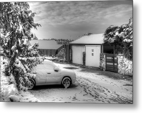 My Home Town - Winter 2015 Metal Print
