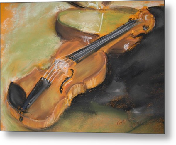 My Lttle Violin Metal Print