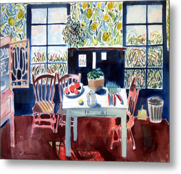 My Matisse Kitchen Metal Print