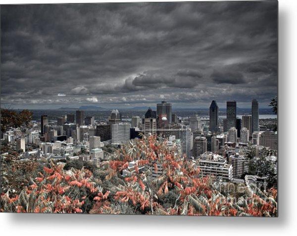 My Montreal's Colors Metal Print