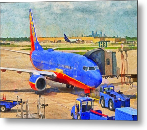 My Ride Home Metal Print