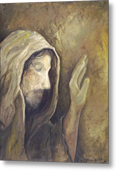 My Savior - My God Metal Print