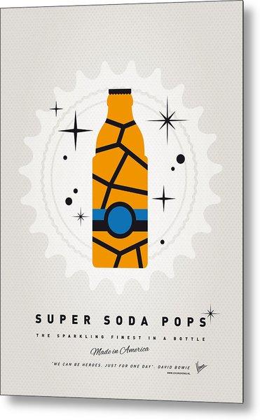 My Super Soda Pops No-03 Metal Print