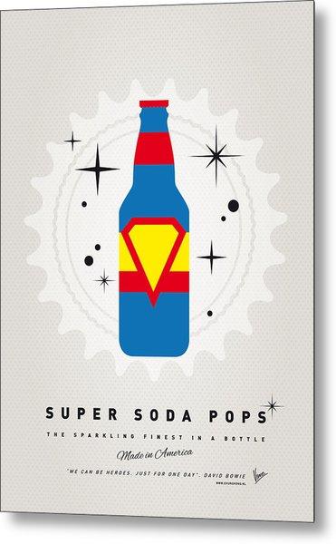 My Super Soda Pops No-05 Metal Print