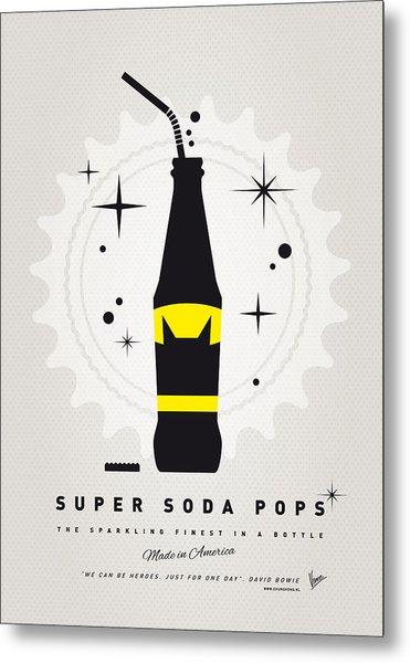 My Super Soda Pops No-07 Metal Print