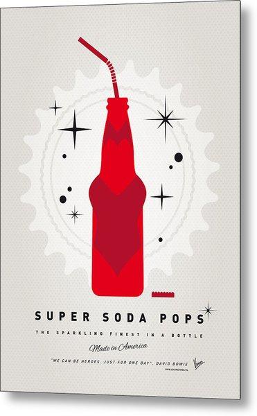 My Super Soda Pops No-23 Metal Print