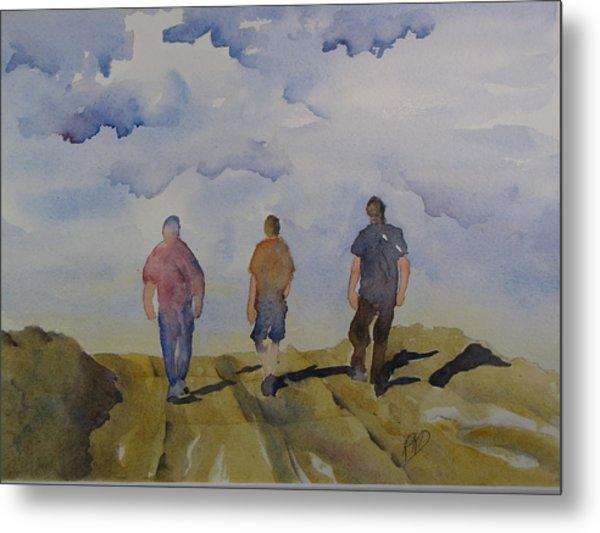 My Three Boys Metal Print by Ramona Kraemer-Dobson