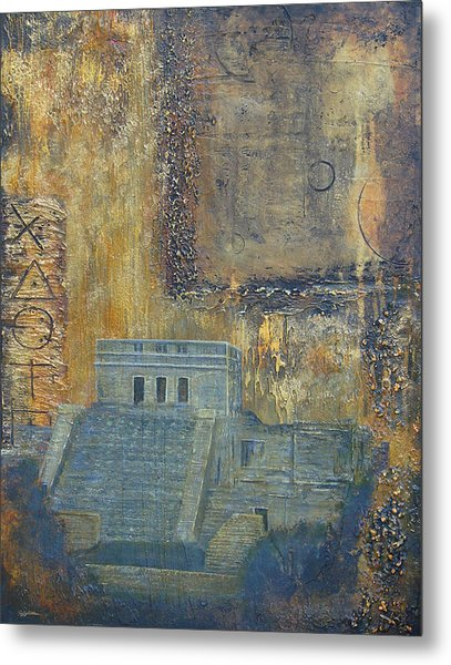 Myan Temple Metal Print by Jeffrey Oldham