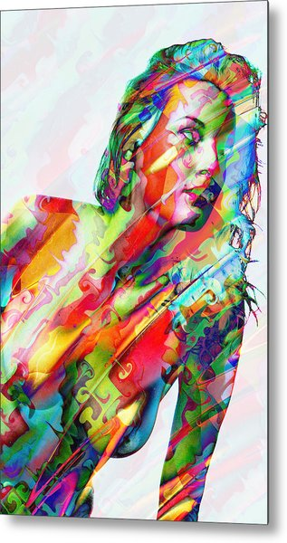 Myriad Of Colors Metal Print