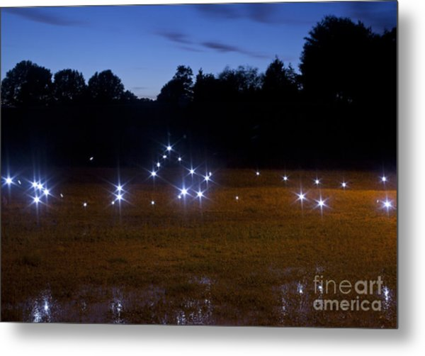Mysterious Lights Metal Print by Jonathan Welch