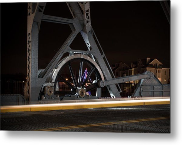 Mystic Drawbridge Linkage Metal Print