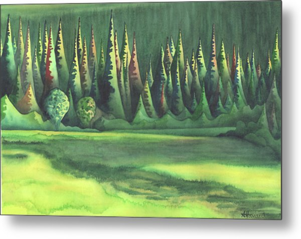 Mystic Marsh Metal Print