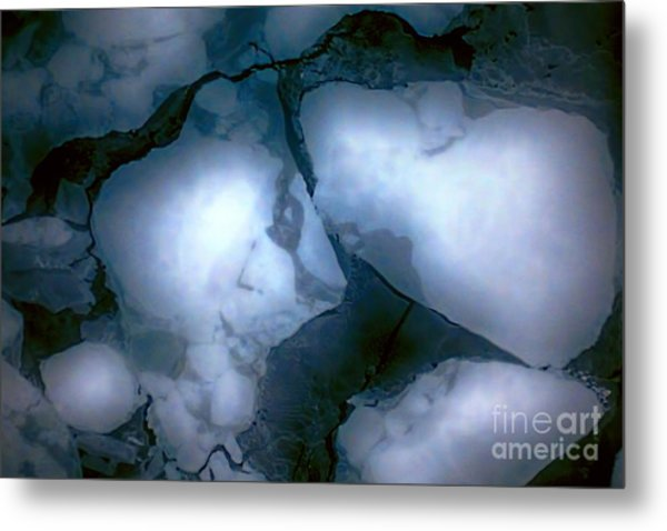 Mystical Blue 2 Metal Print