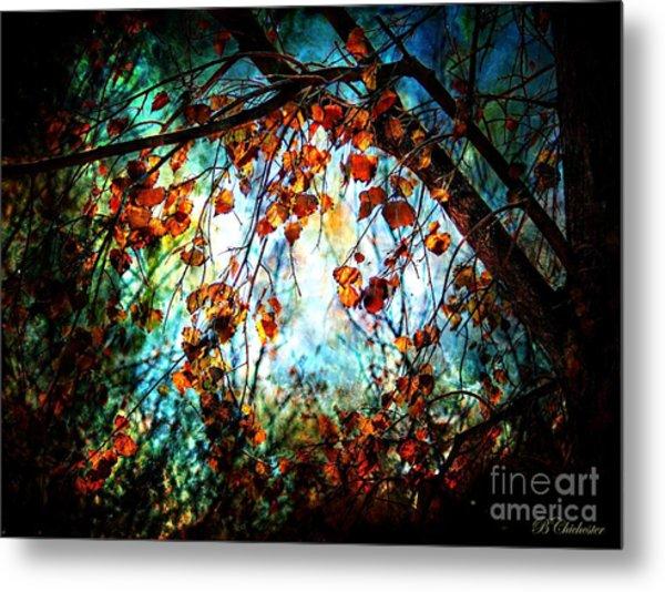 Mystical Forest - Barbara Chichester Metal Print