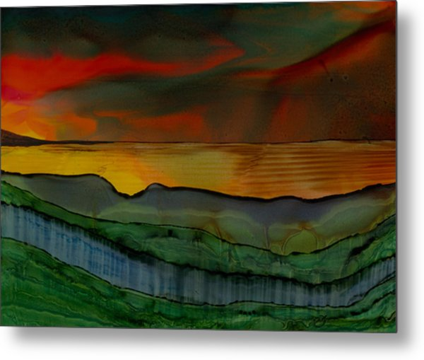 Mystique Of Nature Metal Print