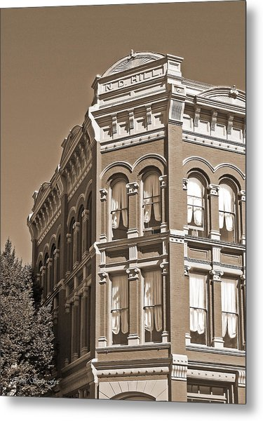 N. D. Hill Building. Port Townsend Historic District  Metal Print