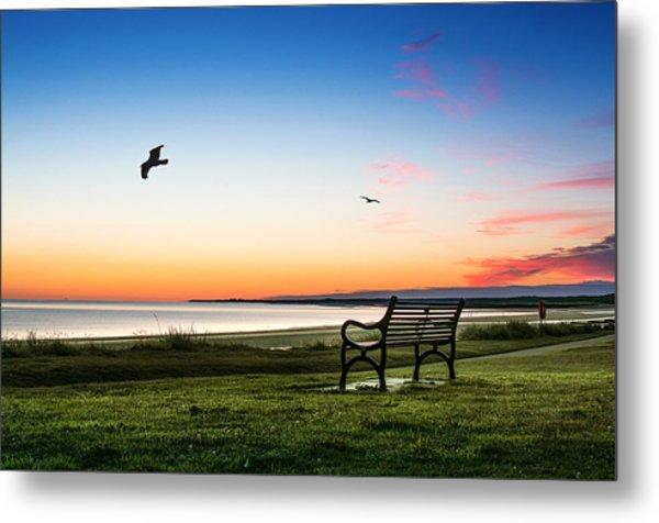 Nairn Beach At Dawn Metal Print