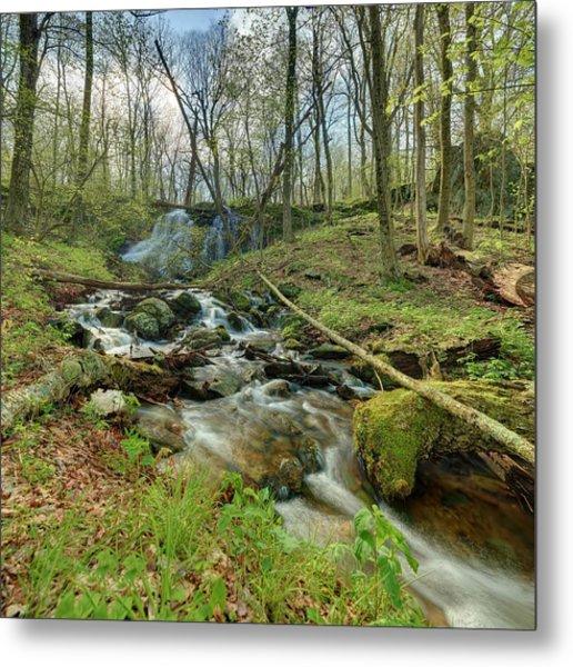Naked Creek Falls Metal Print