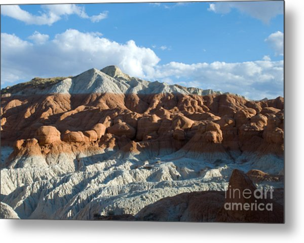 Naked Mountain Metal Print