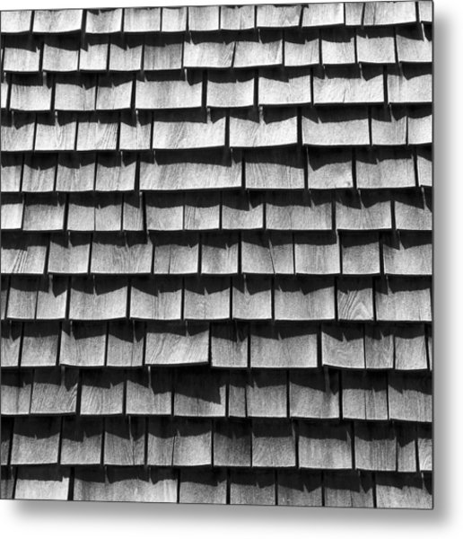 Nantucket Shingles Metal Print
