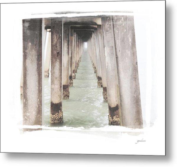 Naples Fl Pier Metal Print