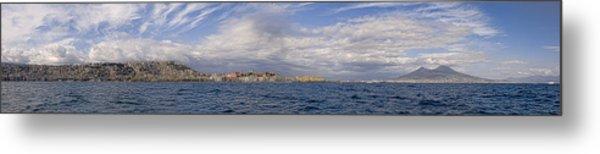 Naples Panorama Metal Print by Chris Cameron