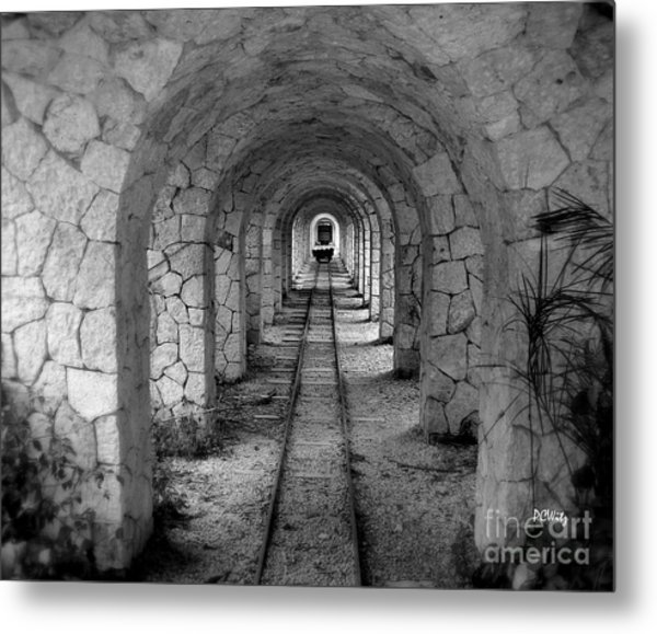 Arched Narrow Gauge Metal Print