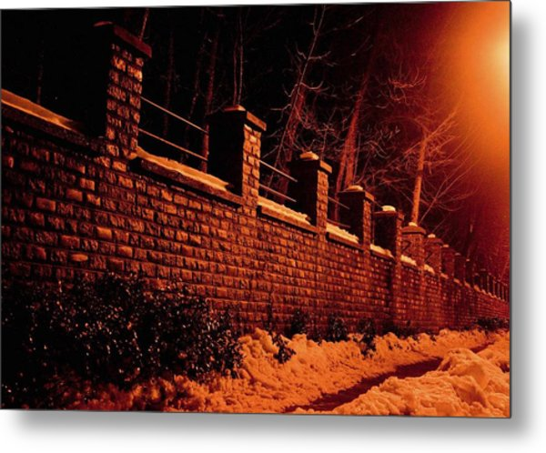 Narrow Path Metal Print by Richie Stewart