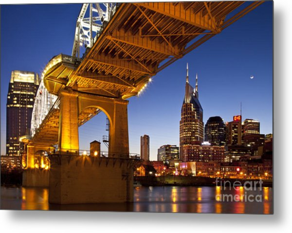 Metal Print featuring the photograph Nashville Tennessee by Brian Jannsen