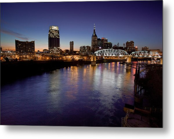 Nashville's River Metal Print
