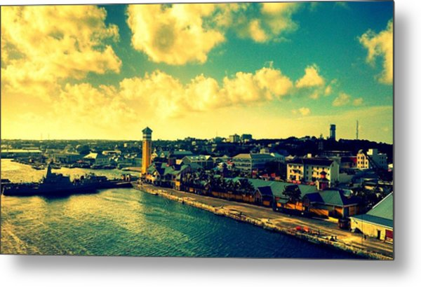 Nassau The Bahamas Metal Print