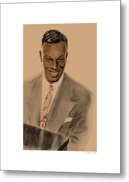 Nat King Cole Metal Print