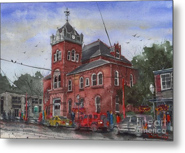 Natchitoches Parish Courthouse Metal Print