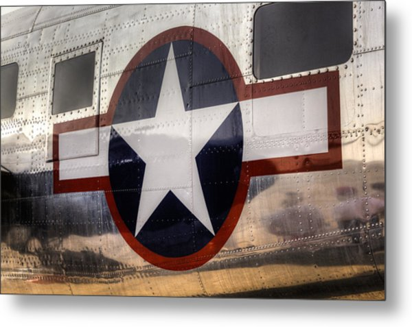 National Aircraft Insignia Metal Print
