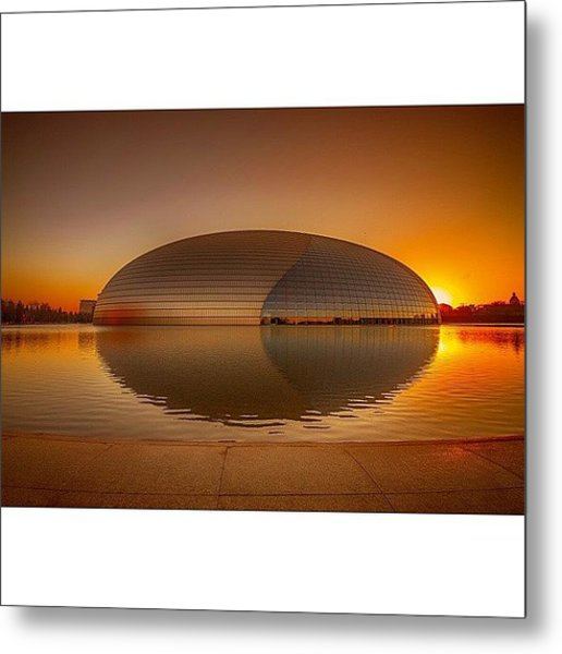 National Centre For The Performing Arts Metal Print