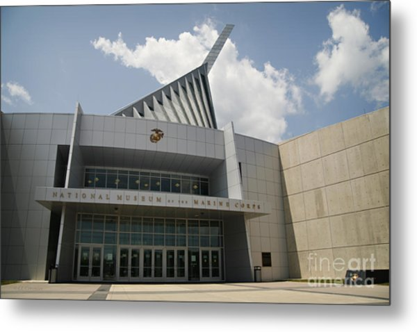 National Museum Of The Marine Corps Metal Print