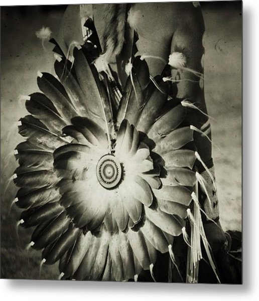 #native #american #powwow #wacipi Metal Print