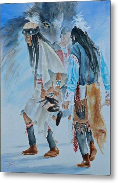 Native Dancers  Metal Print
