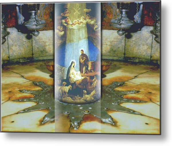 Nativity 2009 Metal Print