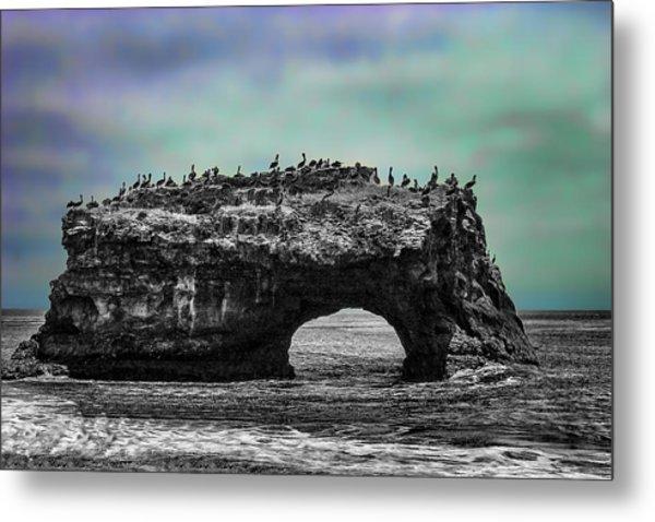 Natural Bridges State Beach Metal Print